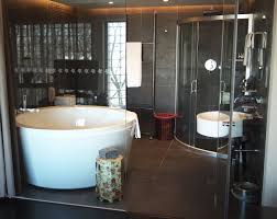 hotel bathroom ideas exciting circled white porcelain free standing bathtub also curver cor