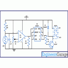 wireless switch circuit diagram   engineersgaragewireless switch circuit diagram
