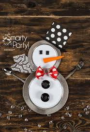 household dining table set christmas snowman knife:
