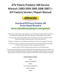 polaris ranger wiring diagram wirdig wiring diagram wiring diagram as well 2006 polaris ranger 700 wiring