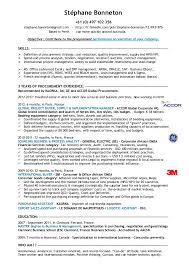 example of objective for resume  high school student resume    procurement specialist resume