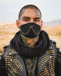 face mask, dust mask, burning man mask, festival – KAYO Anime ...