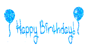 Resultado de imagen para separador gif birthday