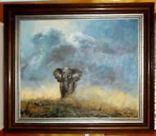 <b>Oil Elephant Canvas Art Paintings</b> for sale | eBay