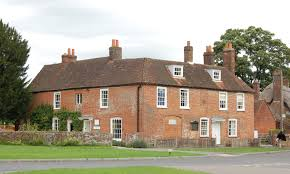 baugh s blog photo essay jane austen s house museum in chawton front of chawton cottage the site of jane austen s house museum