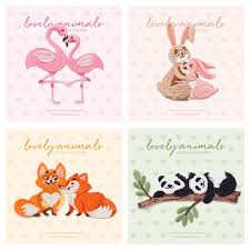 Lovers Animal Patches For Clothing Embroidery Patch Panda ...