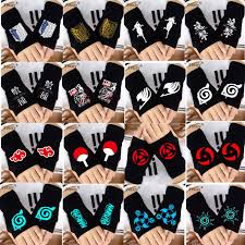 fashion anime naruto gloves