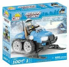 <b>Конструктор Cobi</b> Action Town 1544 <b>Полицейский</b> снегоход ...