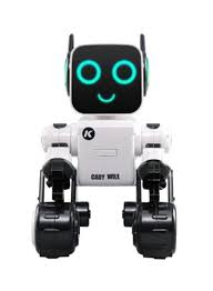 <b>jjrc r4</b> multifunctional <b>voice</b>-<b>activated intelligent</b> rc robot (white)