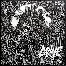 <b>Grave</b> - <b>Burial Ground</b> (2010, Vinyl) | Discogs