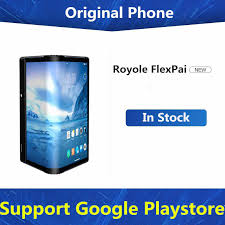 <b>DHL Fast Delivery</b> Royole FlexPai <b>Foldable</b> Cell Phone Snapdragon ...