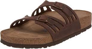 Birkenstock Women's <b>Granada</b> Soft Footbed Leather <b>Sandal</b>