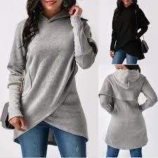 Size XS-2XL <b>Fashion Women</b> Hooded <b>Sweatshirt Autumn</b> Winter ...