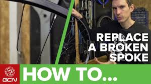 How To Replace A Broken <b>Spoke</b> | Fix Your Road <b>Bike</b> With GCN ...