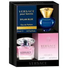 <b>Versace</b> Bright Crystal and <b>Dylan Blue Pour</b> Femme Mini Coffret ...