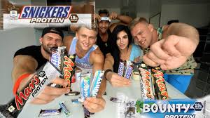 PROTEIN <b>SNIKERS MARS</b> BOUNTY.