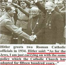 Image result for vatican nazis