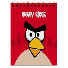 """Блокнот """"<b>Angry Birds</b> (Terence)"""" #2483806 от Аня Лукьянова - <b>Printio</b>"""