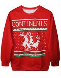 red <b>clown</b> pullover <b>ugly</b> christmas sweatshirt tortoise crew neck ...
