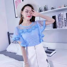 2018 Summer <b>Autumn Women</b> Bottoming Blouse Blusas Sweet ...