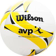 "<b>МЯЧ ВОЛЕЙБОЛЬНЫЙ</b> ""<b>Wilson</b> AVP II Recreational"" Белый ..."