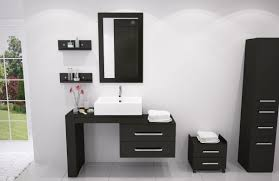 bathroom modern vanity designs double curvy set: bathroom engaging black wood storage units with stainless handle plus paired contemporary vanity design feat