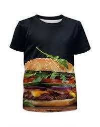 """Детские футболки c уникальными принтами """"бургер"""" - <b>Printio</b>"""