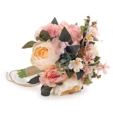 FEIS <b>Fashion</b> Delicate High-Grade Rose and <b>Peony</b> Hand Tied ...
