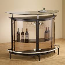 brown stain wall come arched table top wine cellar furniture