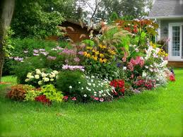 fresh landscape ideas for this spring area lighting flower bed