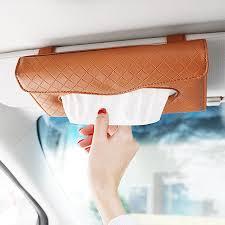 <b>Free Shipping Hot Car</b> Sun Visor Leather Tissue BoxesHigh Quality ...