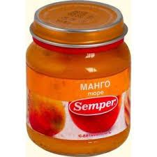 <b>Пюре Semper фруктовое</b> Манго | Отзывы покупателей
