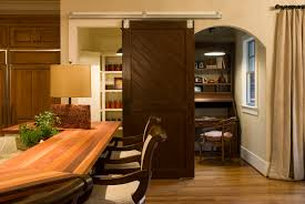 Dining Room Closet Interior Barn Door For Home Separated Office With Dining Room