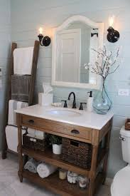 bathroom vanity uk company countertop combination: country bathroom uses furniture piece as vanity w new countertop amp undermount sink