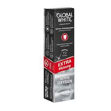 <b>GLOBAL WHITE</b> Отбеливающая <b>зубная паста</b> EXTRA Whitening с ...