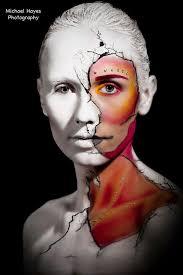 'Cold as Ice' - Amber Michael - MUA - NC   I Love Body Art - Marie-Murphy-Body-painter-irish