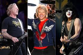 Metallica, <b>Bon Jovi</b> + KISS Make Forbes' Highest Paid Celebs List
