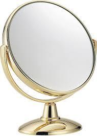<b>Janeke</b> - <b>Зеркало настольное</b>, позолоченное, D170   Makeupstore ...
