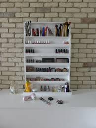 wall organizer il ixtra large makeup organizer nail polish rack wall hanging many colour