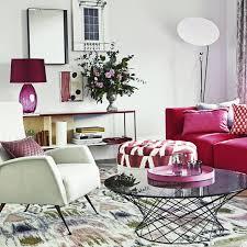 Pink Living Room Furniture Living Room Colour Schemes