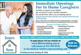 in home caregiver job in pa reading thejobnetwork kupttydg in home caregiver job in pa reading thejobnetwork kupttydg
