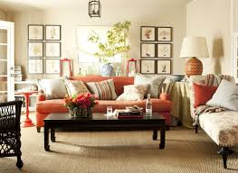 orange gallery living room burnt orange living room furniture