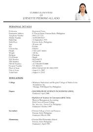 nurse practitioner sample resume sample nursing and medical  nursing curriculum vitae sample