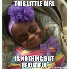 This little girl Is nothing but Beautiful meme - Leprechaun baby ... via Relatably.com
