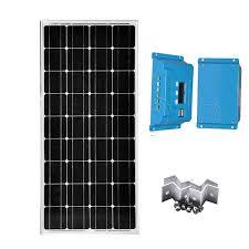 <b>Kit Panneau Solaire</b> 100w 12v Car <b>Solar</b> Charger PWM Controller ...