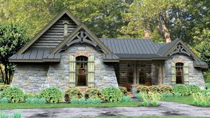 Story Home Plans   One Story Home Designs from Homeplans com Bedroom Cottage Home Plan HOMEPW