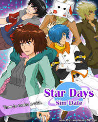 Star Days Sim Date by Pacthesis on DeviantArt Star Days promo poster by Pacthesis