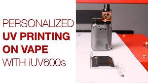 UV <b>Printing</b> on <b>Vape</b> Plastic Cover - YouTube