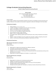 sample resume staff accountant position cipanewsletter accounting resumes resume sample for fresh graduate of accounting