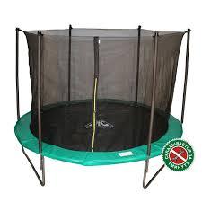 батут dfc jump зеленый черный